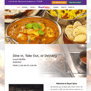 Royal Spice Indian Cuisine – Victoria BC