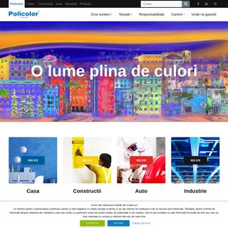 ArchiveBay.com - policolor.ro - Policolor primul producator de lacuri si vopsele din Romania - Policolor