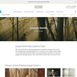 Joseph Smith Prophet of God