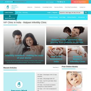IVF Clinic in India - Malpani Infertility Clinic