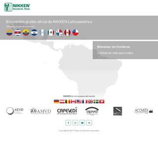 Nikken Latinoamérica sitio oficial - Bienestar sin fronteras