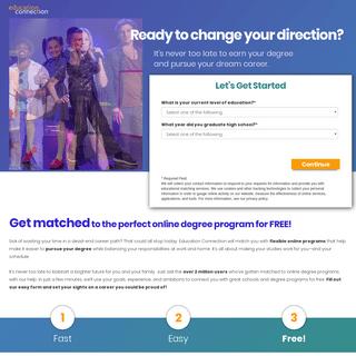 ArchiveBay.com - educationconnection.com - Commercials - Landing Pages