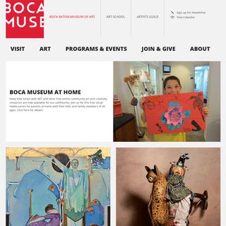 ArchiveBay.com - bocamuseum.org - Boca Raton Museum of Art - Home