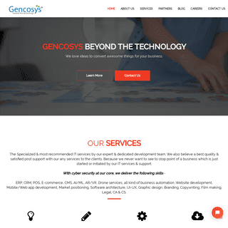 Gencosys - Business Consulting - IT Services - Technology Solutions - SEO & SEM