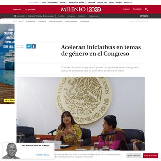 Jalisco- Aprobarán 15 iniciativas para el día de la mujer