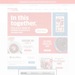 Homepage - Foodland- Atlantic