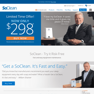 SoClean - Fast and Easy Equipment Maintenance - SoClean US