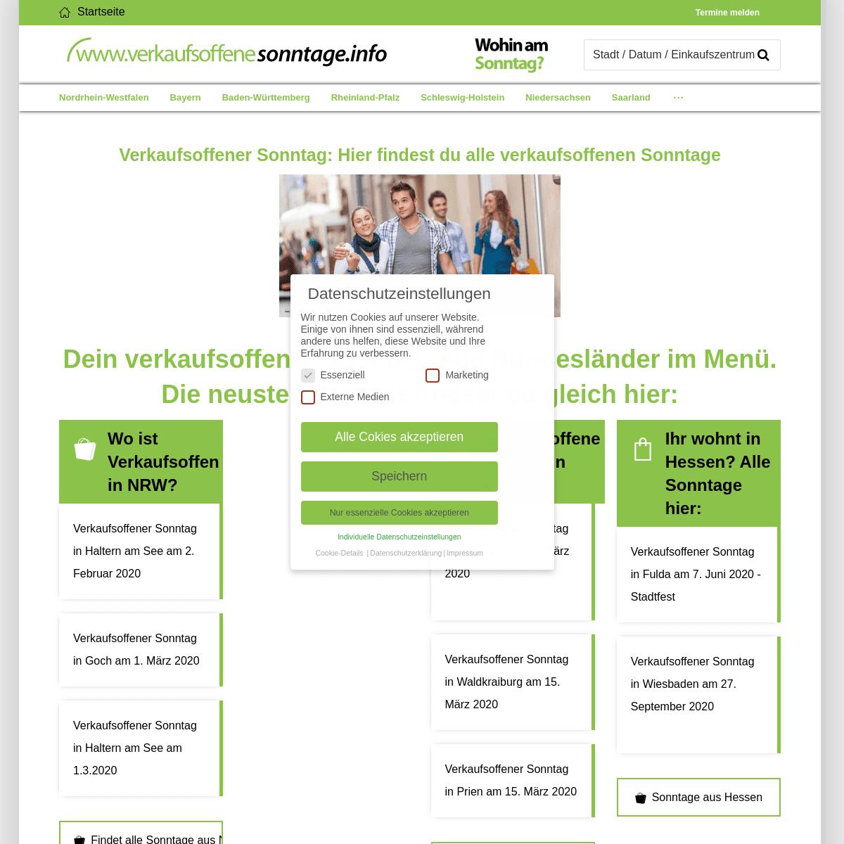 ArchiveBay.com - verkaufsoffenesonntage.info - Verkaufsoffener Sonntag ☝ 2020 - Shoppen am Wochende