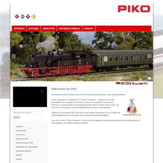 PIKO Spielwaren GmbH - Startseite