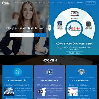 Thiết kế web Đà Nẵng - Thiết kế website tại Đà Nẵng - BEHA.vn