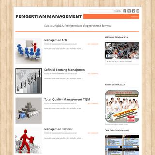 Pengertian Management
