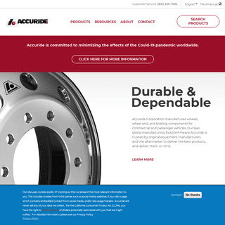 Welcome to Accuride Corporation - Accuride