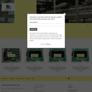The TV ChopShop - Provider of Quality OEM TV Parts and Circuit Boards