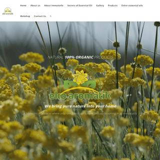 eko aromatik - Home