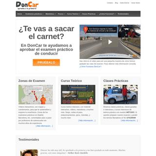DonCar - Consejos para aprobar el examen práctico de conducir