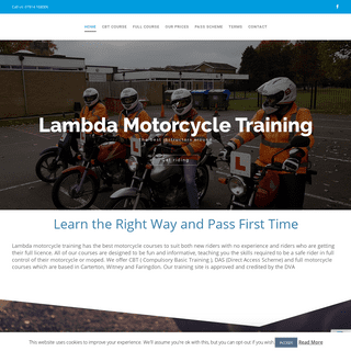 Get Your Motorcycle Licence Through Our Training Courses, CBT, DAS