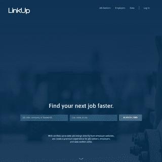 LinkUp - LinkUp Job Search Engine