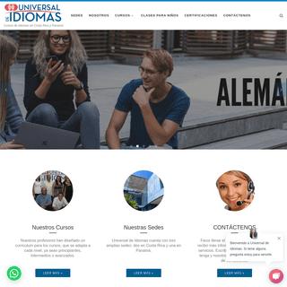 Universal de Idiomas - Cursos de Ingles, Portugues, Italiano, Aleman