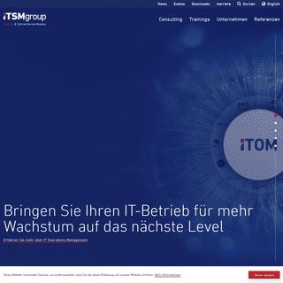 iTSM Group - Die Spezialisten für Service Management