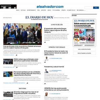 El Diario de Hoy - Noticias de El Salvador - elsalvador.com