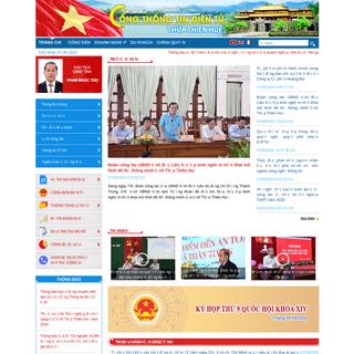 Cổng thông tin điện tử tỉnh Thừa Thiên Huế