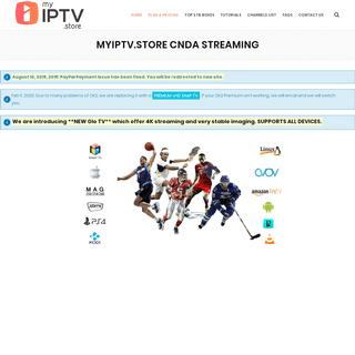 myIPTV.store CNDA Streaming - myIPTV Store
