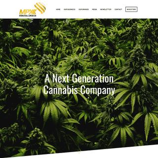 ArchiveBay.com - mpxbioceutical.com - HOME - MPX International Corporation