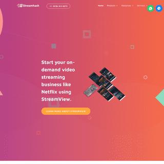 StreamHash - Video Streaming Script - Video Hosting Script - Video Streaming Software