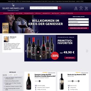 Leidenschaft für Wein-Genuss - Wein online kaufen - Silkes Weinkeller