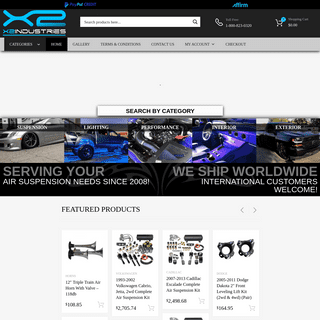 Custom Suspension Kits, Car Aftermarket Parts, Lighting, and Accessories - X2 Industries