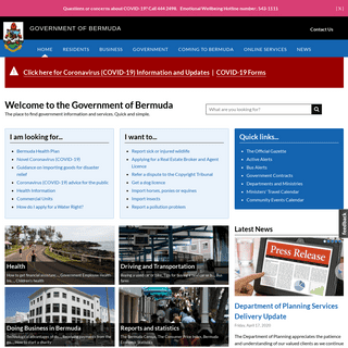 Government of Bermuda - The place to find government and services. Quick and simple.