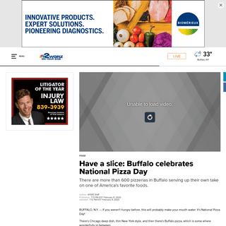 Have a slice- Buffalo celebrates National Pizza Day - wgrz.com