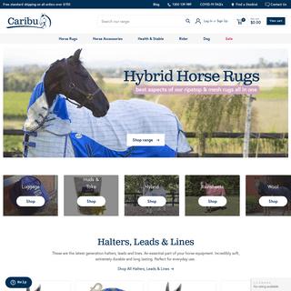 Caribu Horse Rugs & Accessories –Caribu Horse Wear