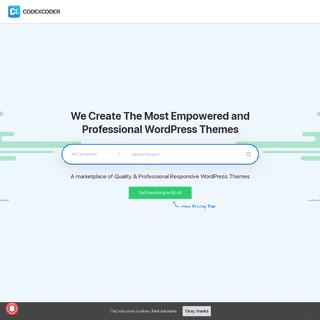 CodexCoder - Premium WordPress Themes, PSD & HTML Templates