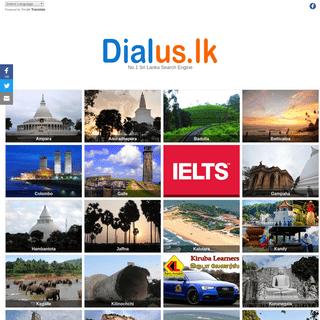 Dialus.lk - No. 1 Sri Lanka Search Engine.