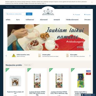 Skonis ir kvapas - Internetinė parduotuvė