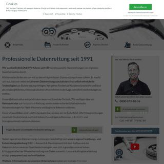 DATARECOVERY® Professionelle Datenrettung von HDD, RAID, SSD