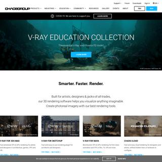 Chaos Group - Rendering & Simulation Software – V-Ray, VRscans & Phoenix FD