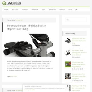 ArchiveBay.com - test-basen.dk - Test-basen.dk - Bedst i test - Dansk forbruger- og testmagasin