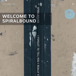 spiralbound – since 2006