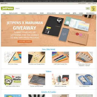 JetPens - The Best Pens & Stationery From Japan & Beyond