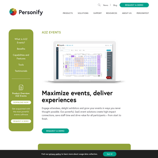 A2Z Events - Personify Corp