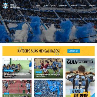Grêmio Foot-Ball Porto Alegrense - Site Oficial