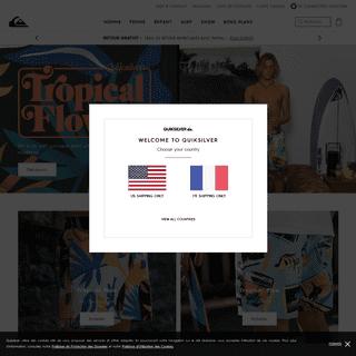 Quiksilver - Marque de Surf & Snowboard depuis 1969