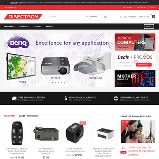 ArchiveBay.com - directron.com - Directron - Computers, Computer Parts, Electronics, Laptops, Tablets and More