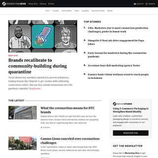Digital Marketing News - Marketing Dive