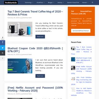 TechEarticle.com - Tech News, Wordpress Tutorials and Blogging Tips