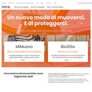 Assicurazione online auto, moto, casa e persone - Sara.it