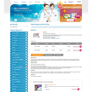 Buy Arimidex Online - Pharmacy Sale!