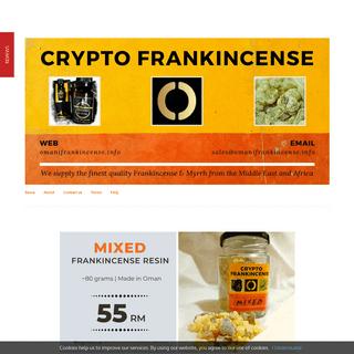 Frankincense & Myrrh by Crypto Frankincense